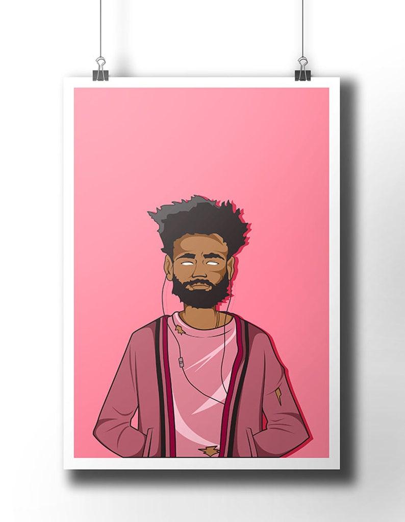 """inch 13 CHILDISH GAMBINO Poster Wall Print 24/"""" x 36/"""""""