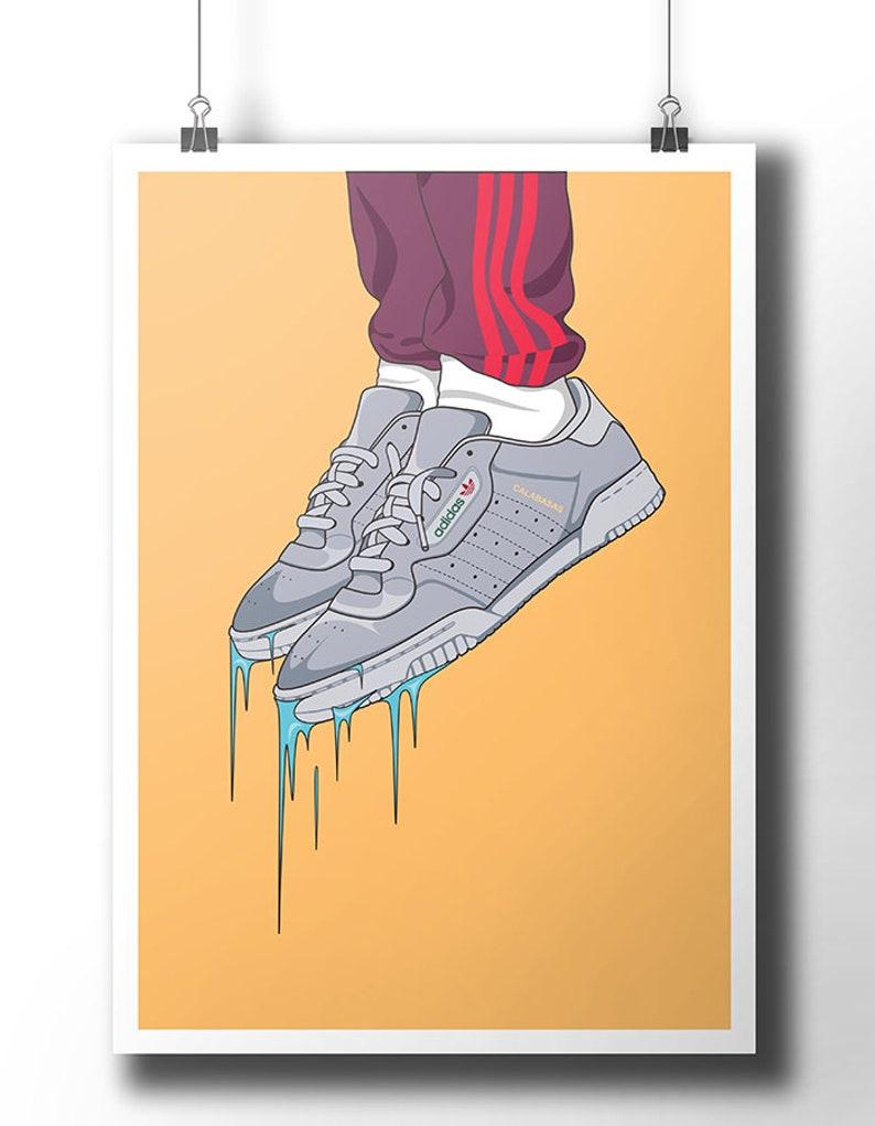 728e3e35c7270 Adidas Yeezy Powerphase Calabasas poster   wall art   wall