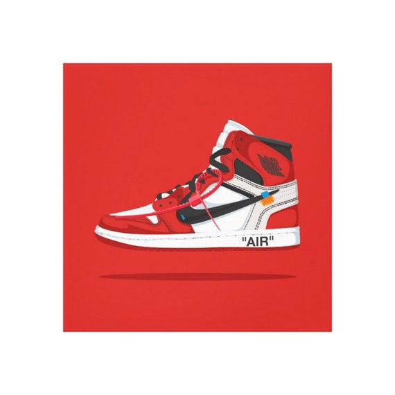 Off White x Nike Air Jordan 5 Cool Sneakers