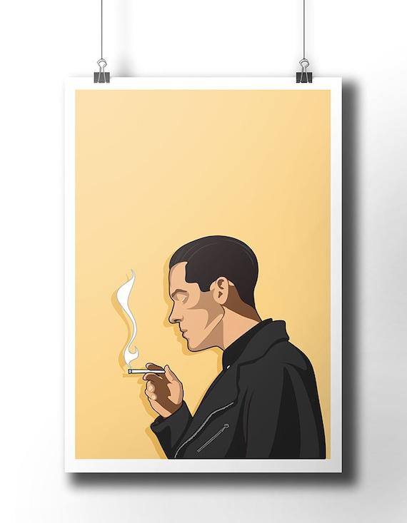 G Eazy poster / wall art / wall decor / rap poster / hip hop /
