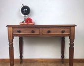 Restored Late Victorian, Early Edwardian, Ladies Antique Writing Desk or Dressing Table
