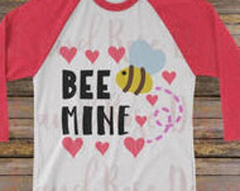 Bee Mine Valentines Tee
