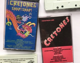 "The Cretones ""Discography"" Tape Set (Cassettes x 2)"
