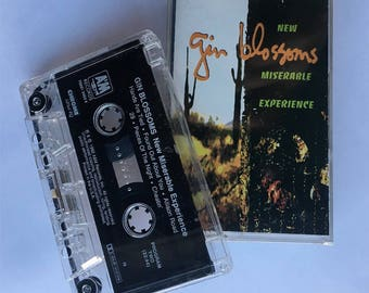 "Gin Blossoms ""New Miserable Experience"" (1992) Cassette"
