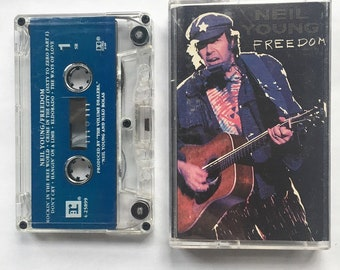 "Neil Young ""Freedom"" (1989) Cassette"