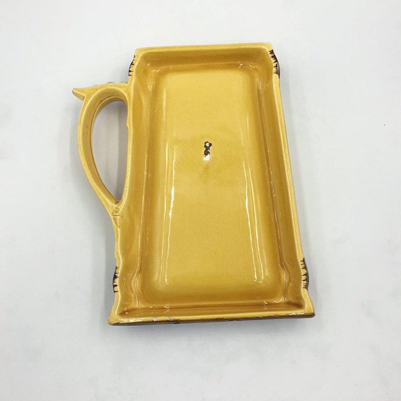 Let/'s all get DRUNK And go to heaven Ceramic Beer Vintage - Ashtray? Wall Hanging? Irish Toast DRINK
