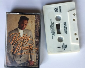 "Bobby Brown ""Don't Be Cruel"" (1988) Cassette"