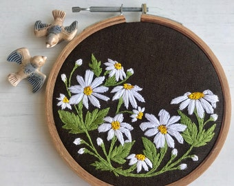 Daisies in a meadow/ floral wall art/ Mother's Day gift