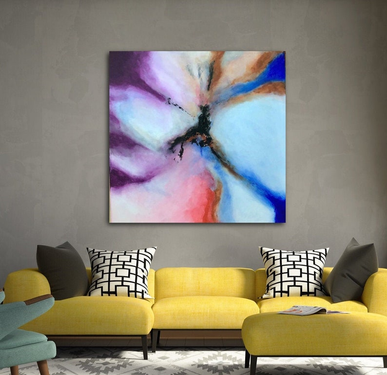 Abstract Painting Abstract Art Abstract Artwork Original Painting Contemporary Painting Free Shipping Canada