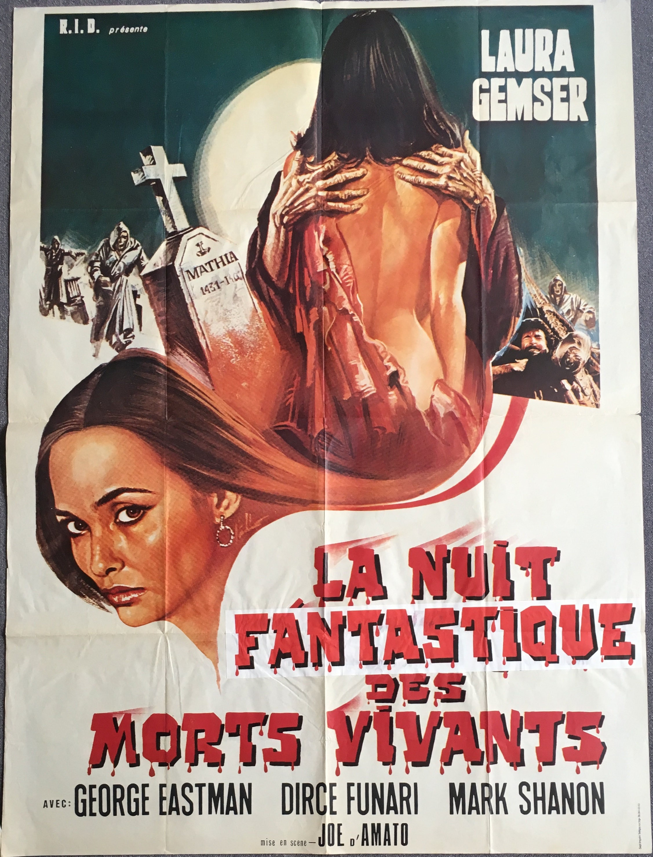 French movie poster La Nuit fantastique des morts-vivants Le | Etsy