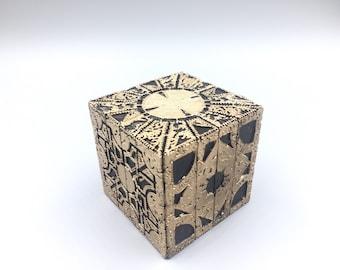Hellraiser puzzle box 1:1 replica moving lament configuration