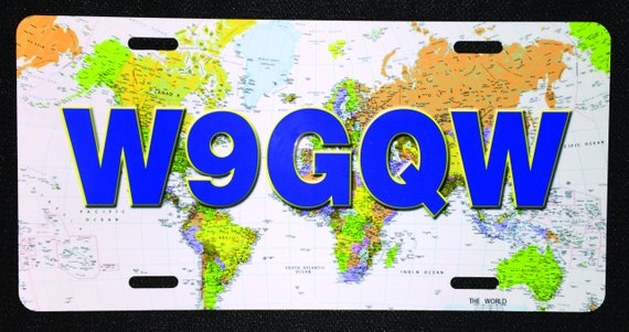 Amateur Radio World Map License Plate on license plate colors, license plate france, license plate malaysia, license plate water, license plate numbers, license plate mexico, license plate russia, license plate singapore, license plate italy, license plate clock, license plate art, license plate collection, license plate search, license plate germany, license plate united states, license plate syria, license plate china, license plate games, license plate country, license plate south africa,