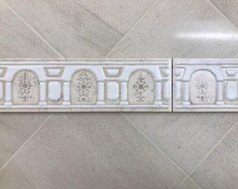 Vintage pallace print border