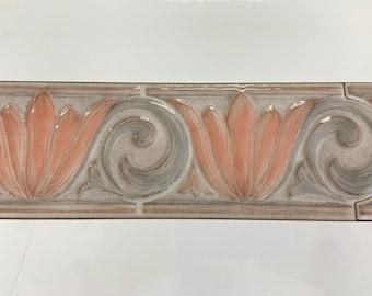 Vintage Art Deco Ceramic Listello