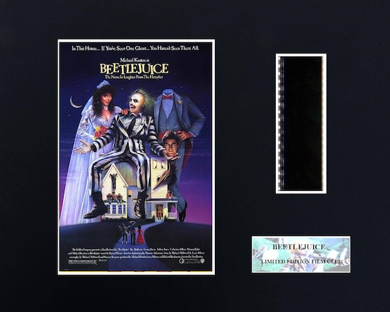 Beetlejuice 8 X 10 Film Cell Etsy