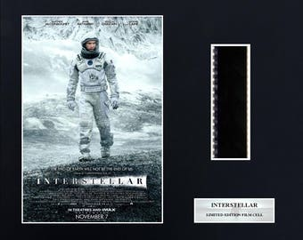 INTERSTELLAR   8 x 10 film cells