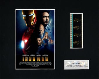 Iron Man 8 x 10 Film Cell