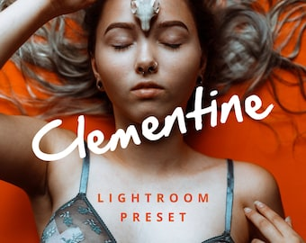 Clementine Lightroom Preset