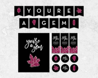 You're a Gem - Young Women in Excellence Instant Download Package- INSTANT DOWNLOAD
