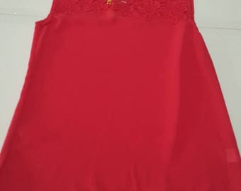 Bonita blusa para mujer con bordado.  Medida grande o large