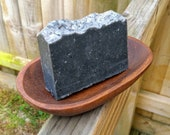 Activated Charcoal & Nigella Soap, Black Seed, Soothing Soap, Natural Acne Soap, Sustainable, Handmade, Face and Body Soap, Teenage Skin