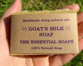 Goat Milk Soap, Gentle Soap, Natural, Unscented Soap, Sensitive Skin, Palm Oil Free, Gift for Him, SLS Free, Handmade, Dry Skin, Gift, Home
