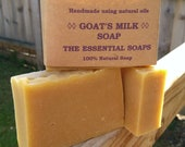 Goat Milk Soap, Gentle Soap, Natural, Unscented Soap, Sensitive Skin, Palm Oil Free, Paraben Free, SLS Free, Handmade, Dry Skin, Gift, Home