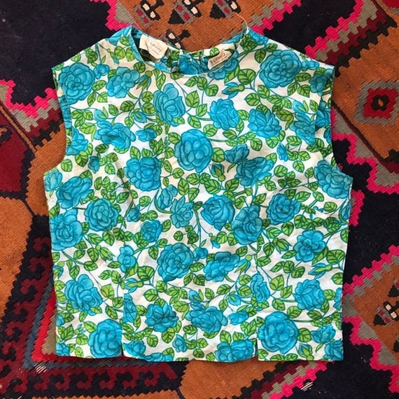 Vintage Liberty of London Silk Shell Top