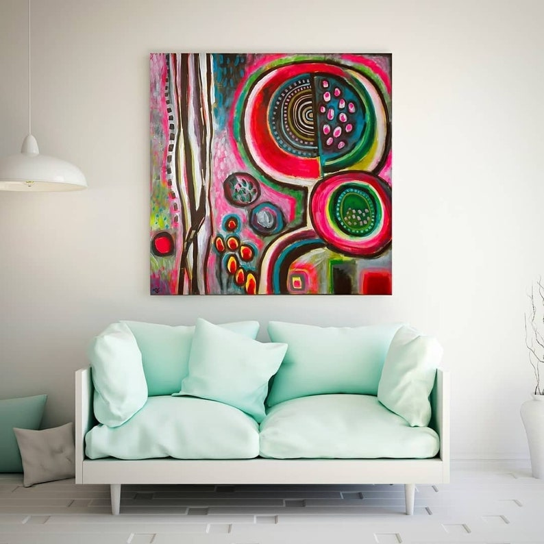 Abstract Madonna eclectic modern abstract wall art extra image 0