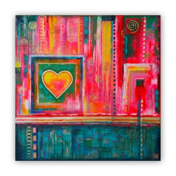 Lovely Abstract original acryl...