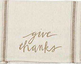 Dish Towel - Give Thanks