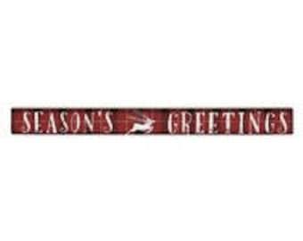 Season's Greetings Talking Stick