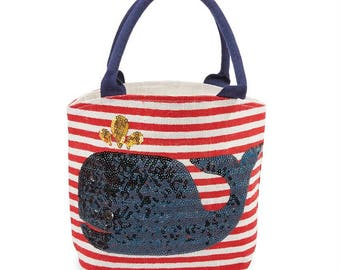 Boathouse Whale Tote