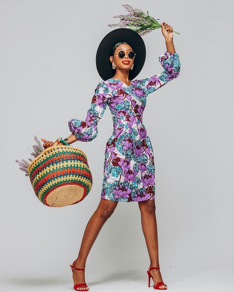 Ankara Dress African Clothing African Dress African Print image 0