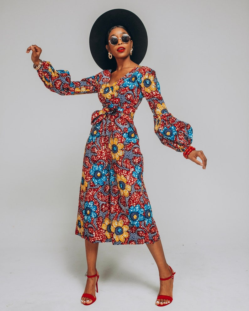 Ankara Jumpsuit African Clothing African Jumpsuit African image 0