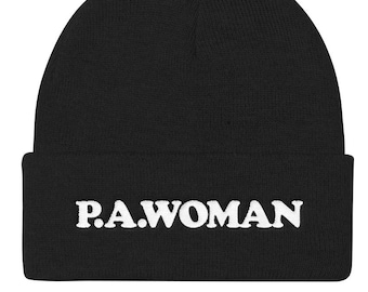 P.A. Woman State Knit Hat Beanies e476916aadbe