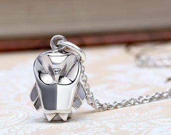 Cute Origami Owl Silver Necklace