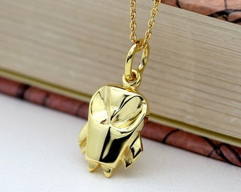 Cute Origami Owl Gold Necklace