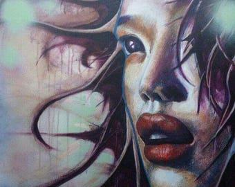 Mixed media on canvass