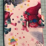 Play Pack Activity Case / Travel Activity Pouch / Marker Pencil Pouch / Crayon Case / Pencil Pouch  - Trolls Pass the Glitter