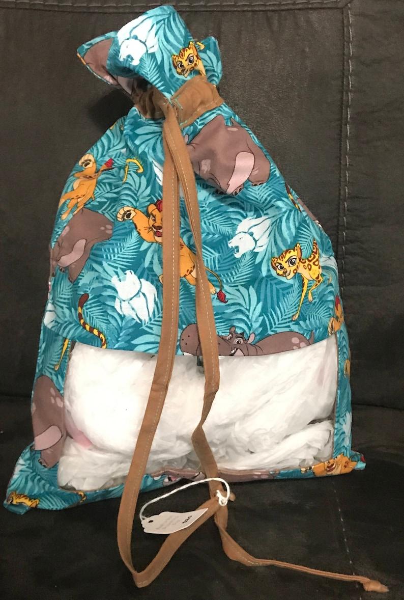 Peek a Boo Drawstring Toy Bag Lion Guard image 0