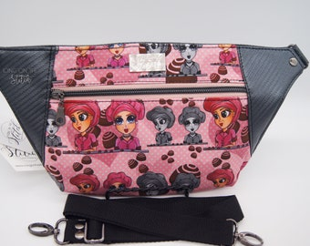 Lucy Waist Pack / Lucy and Ricky / TV Show / Lucille Ball / Lucy and Ethel / Chocolate Factory / Bum Bag / Waist Bag