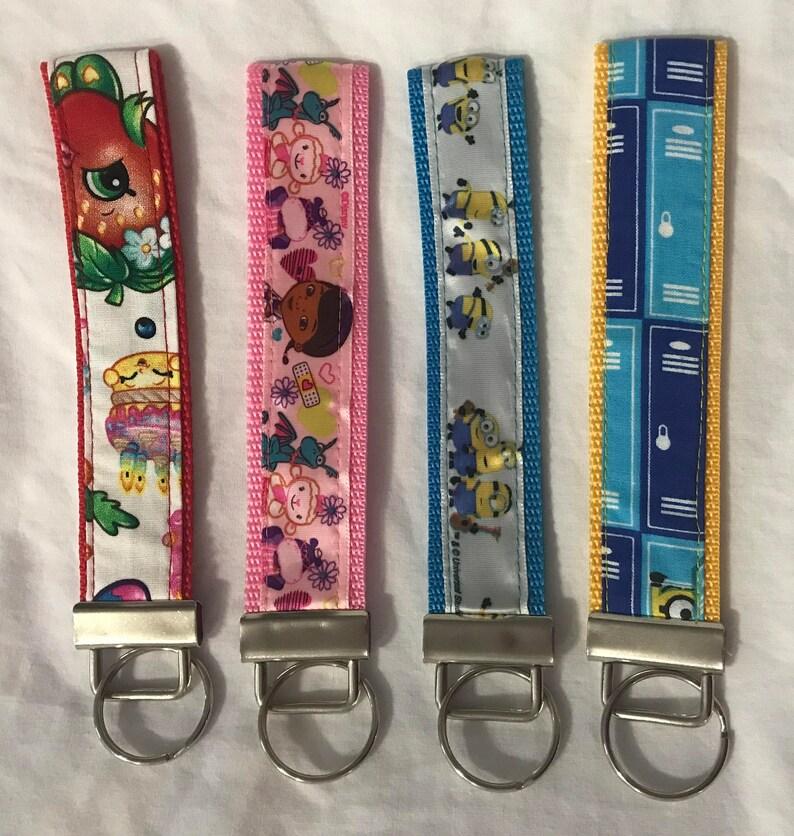 Keychain Wristlet / Key Fob / Key Lanyard / Wrist Strap / image 0