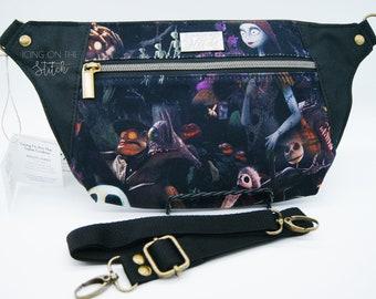 Nightmare Waist Pack / Jack and Sally Bag / Halloween Bag / This Is Halloween / Burton / Bum Bag / Waist Bag