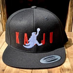 Kaiju Godzilla Biting into Logo Dicebag