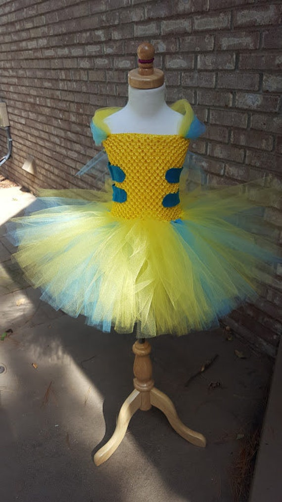 Flounder From The Little Mermaid Costume Flounder Tutu Etsy