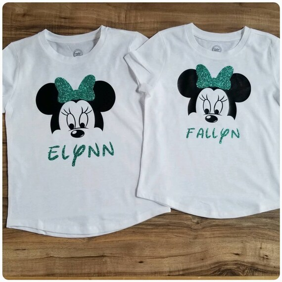 Minnie Mouse Birthday Shirt Disney World