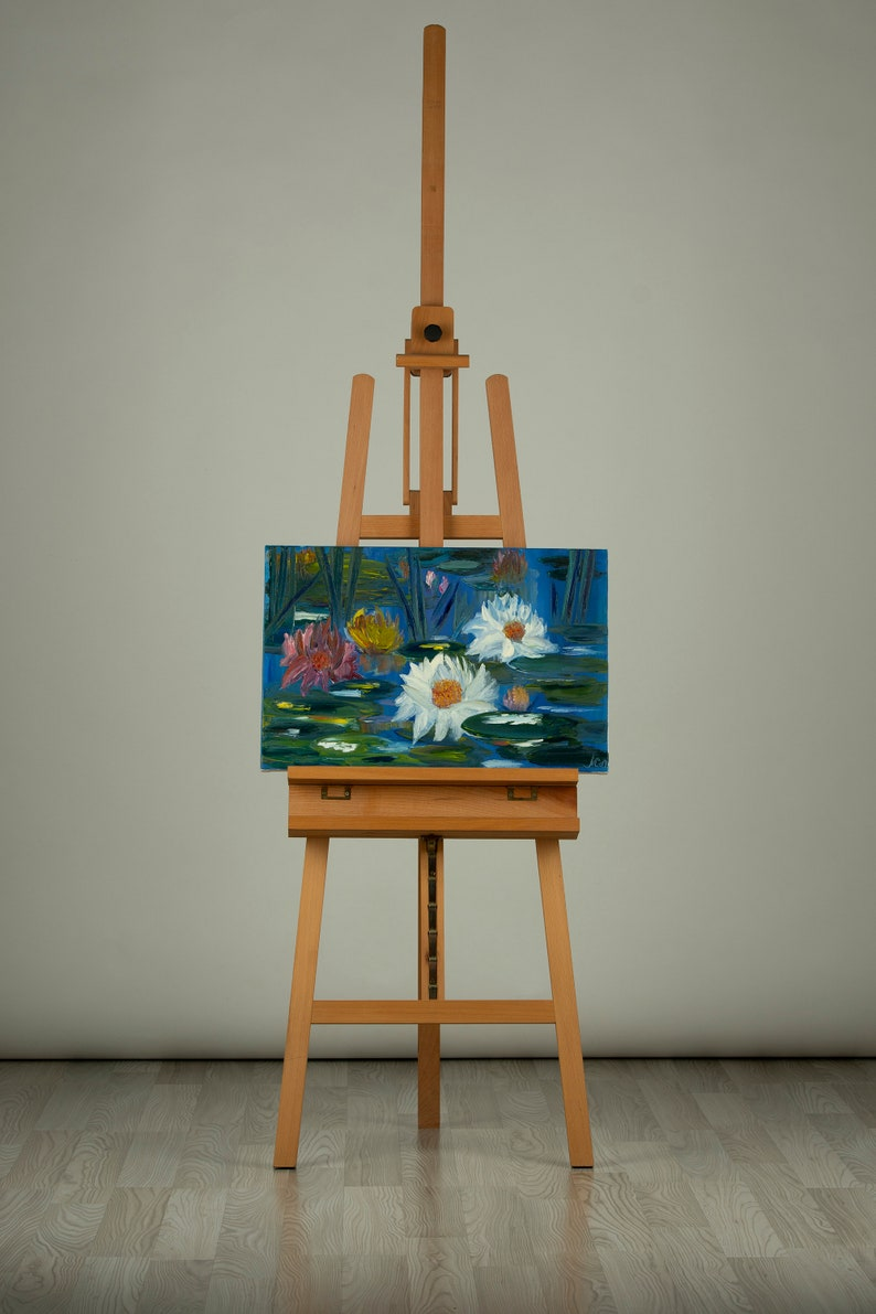 Water Lilies oil painting  40x60cm image 0