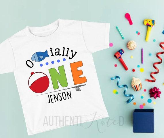 Ofishially One Childrens Shirt First Birthday