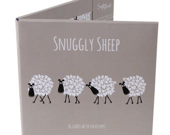 Snuggly Sheep Card Pack